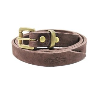 NARROW BELT / DARK BROWN