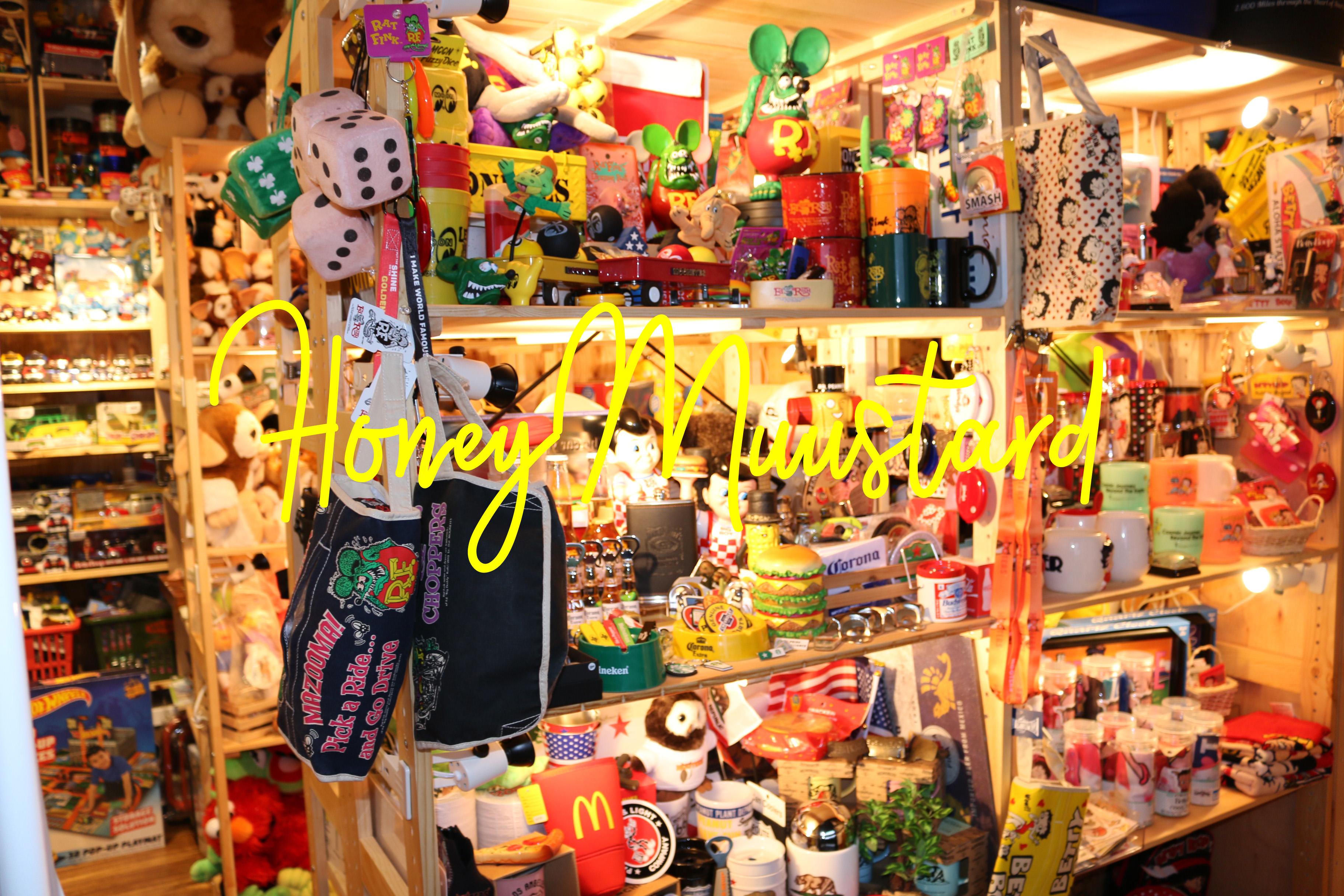 新潟のアメリカン雑貨屋といえば HONEYMUSTARD #ハニマスニイガタ