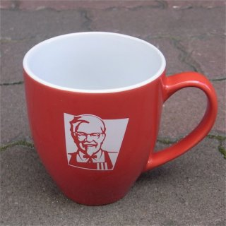 KFC ケンタッキーフライドチキン CERAMIC CUP セラミックカップ  輸入雑貨/海外雑貨/直輸入/アメリカ雑貨