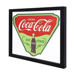 '50s ガレージ ミラー コカコーラ COCA-COLA ICE COLD  輸入雑貨/海外雑貨/直輸入/アメリカ雑貨/アメ雑