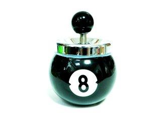 8ボール ターンダウンアッシュトレイ ビリヤード  灰皿   輸入雑貨/海外雑貨/直輸入/アメリカ雑貨/アメ雑