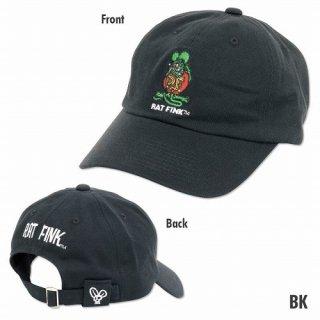 ラットフィンク キャップ黒 Rat Fink Embroidery Cap (RICF053:BK) 輸入雑貨/海外雑貨/直輸入/アメリカ雑貨/アメ雑