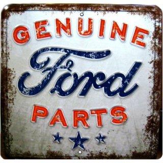 US フォード パーツ ラスティク ティンサイン 輸入雑貨/海外雑貨/直輸入/アメリカ雑貨/アメ雑