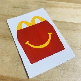 McDonald's STICKER HAPPYSET ICON マクドナルド ステッカー  輸入雑貨/海外雑貨/直輸入/アメリカ雑貨/アメ雑