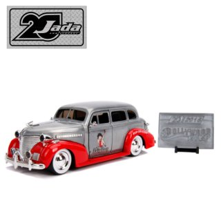 JADA TOYS 20th ANNIVERSARY 1:24 HOLLYWOOD RIDES 1939 Chevy Master Deluxe ミニカー ベティ 輸入雑貨/アメリカ雑貨
