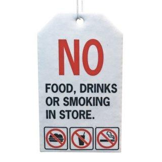 AUTOMOTIVE Air Freshener NO FOOD エアフレッシュナー 輸入雑貨/海外雑貨/直輸入/アメリカ雑貨