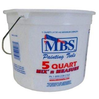 US MBS 5クォート プラスチック バケツ ハンドル付  輸入雑貨/海外雑貨/直輸入/アメリカ雑貨/おもちゃ