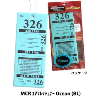 <img class='new_mark_img1' src='//img.shop-pro.jp/img/new/icons5.gif' style='border:none;display:inline;margin:0px;padding:0px;width:auto;' />MERCURY MCR エアフレッシュナー Tropical Flowe (BL)    輸入雑貨/海外雑貨/直輸入/アメリカ雑貨/アメ雑