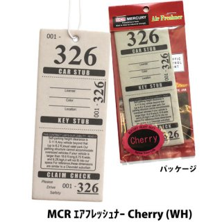 <img class='new_mark_img1' src='//img.shop-pro.jp/img/new/icons5.gif' style='border:none;display:inline;margin:0px;padding:0px;width:auto;' />MERCURY MCR エアフレッシュナー Tropical Flowe (WH)    輸入雑貨/海外雑貨/直輸入/アメリカ雑貨/アメ雑