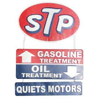 US embossed SIGN STP QUIETS MOTORS エンボス サイン   輸入雑貨/海外雑貨/直輸入/アメリカ雑貨/おもちゃ