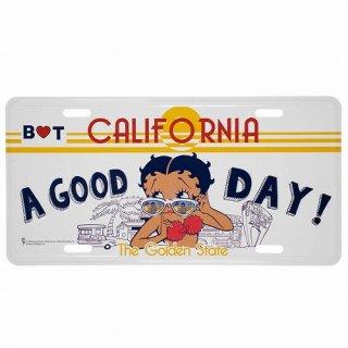 ベティ コマーシャル プレート (Betty Boop BT-GOOD) 輸入雑貨/アメリカ雑貨