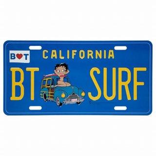 ベティ コマーシャル プレート (Betty Boop BT-SURF) 輸入雑貨/アメリカ雑貨