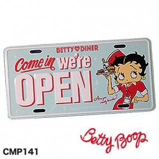 ベティ コマーシャル プレート(Betty Boop CMP-8)  輸入雑貨/アメリカ雑貨