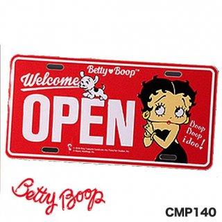 ベティ コマーシャル プレート(Betty Boop CMP-6)輸入雑貨/アメリカ雑貨