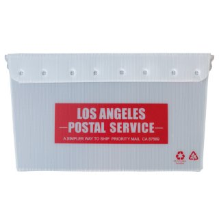 【USPS】U.S POST BOX ポスト ボックス 収納 LA RED  輸入雑貨/海外雑貨/直輸入/アメリカ雑貨