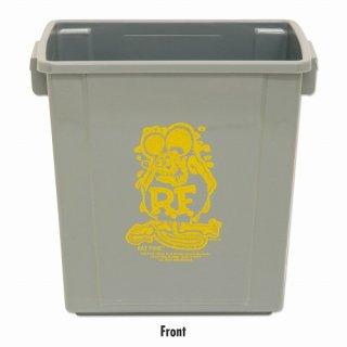 ラットフィンク トラッシュビン ゴミ箱 グレー RatFink Trash Bin (RAF543:GY) 輸入雑貨/海外雑貨/直輸入/アメリカ雑貨