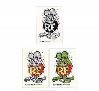 Rat Fink Made in USA ラットフィンク ステッカー パープル 輸入雑貨/アメリカ雑貨