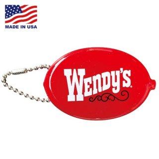 ウェンデーズ ラバー コインケース Wendys COIN CASE  Wendys Red 輸入雑貨/アメリカ雑貨