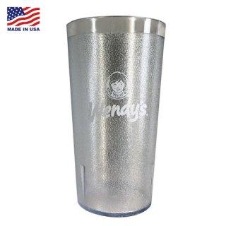 ウェンデーズ カップ Wendy's IMPACT TUMBLERS  Wendys CLEAR 輸入雑貨/アメリカ雑貨