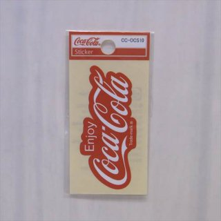 <img class='new_mark_img1' src='//img.shop-pro.jp/img/new/icons5.gif' style='border:none;display:inline;margin:0px;padding:0px;width:auto;' />COKE☆ミニステッカー(CC-OCS10:80年代ロゴ) コカコーラ ステッカー  輸入雑貨/海外雑貨/直輸入/アメリカ雑貨