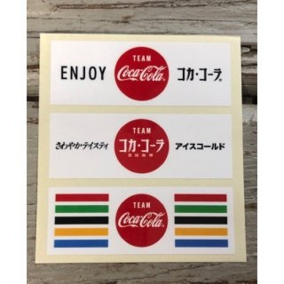 <img class='new_mark_img1' src='https://img.shop-pro.jp/img/new/icons5.gif' style='border:none;display:inline;margin:0px;padding:0px;width:auto;' />Team Coca-Cola ステッカー (TC-S8) VALUE 3pcs /2020 olympic  コカコーラ ステッカー  輸入雑貨/海外雑貨/直輸入/アメリカ雑貨