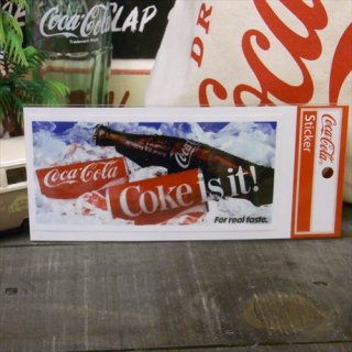 <img class='new_mark_img1' src='//img.shop-pro.jp/img/new/icons5.gif' style='border:none;display:inline;margin:0px;padding:0px;width:auto;' />☆COKE☆ (CC-NS9/NOSTALGIA)コカコーラ ステッカー  輸入雑貨/海外雑貨/直輸入/アメリカ雑貨