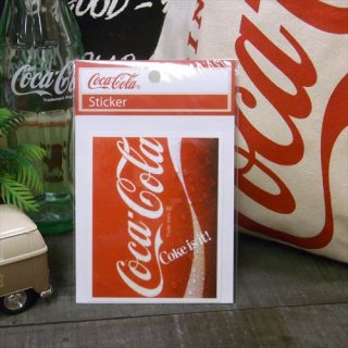<img class='new_mark_img1' src='//img.shop-pro.jp/img/new/icons5.gif' style='border:none;display:inline;margin:0px;padding:0px;width:auto;' />☆COKE☆  (CC-NS1/NOSTALGIA)コカコーラ ステッカー  輸入雑貨/海外雑貨/直輸入/アメリカ雑貨