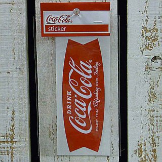 <img class='new_mark_img1' src='//img.shop-pro.jp/img/new/icons5.gif' style='border:none;display:inline;margin:0px;padding:0px;width:auto;' />☆COKE☆    (CC-BA12:フィッシュ)コカコーラ ステッカー  輸入雑貨/海外雑貨/直輸入/アメリカ雑貨