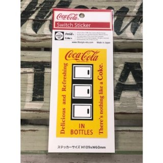 <img class='new_mark_img1' src='//img.shop-pro.jp/img/new/icons5.gif' style='border:none;display:inline;margin:0px;padding:0px;width:auto;' />Coca-Cola SWITCH ステッカー IN BOTTLE (CC-ES7-3)コカコーラ ステッカー  輸入雑貨/海外雑貨/直輸入/アメリカ雑貨