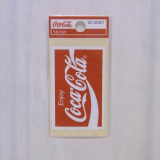 <img class='new_mark_img1' src='//img.shop-pro.jp/img/new/icons5.gif' style='border:none;display:inline;margin:0px;padding:0px;width:auto;' />COKE☆ミニステッカー(CC-OCS11:ロゴリボン スクエア)コカコーラ ステッカー  輸入雑貨/海外雑貨/直輸入/アメリカ雑貨