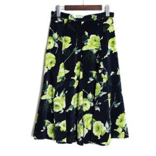 DRWCYS ドロシーズ<br>花柄サテンスカート  16AW(63151008)