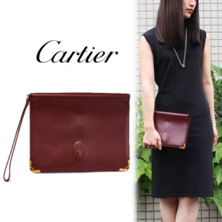 Cartier カルティエ<br>【Vintage ヴィンテージ】<br>マストラインクラッチバッグ