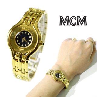 MCM エムシーエム ヴィンテージ<br>ゴールドQZ腕時計