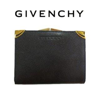 GIVENCHY ジバンシー<br>【Vintage ヴィンテージ】<br>がま口二つ折り財布