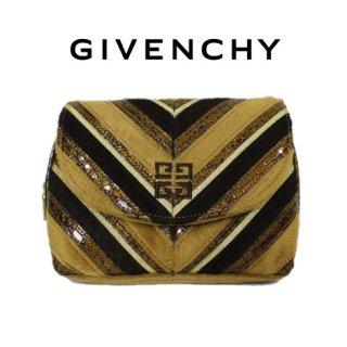 GIVENCHY ジバンシー<br>【Vintage ヴィンテージ】<br>フェイクファーポーチ