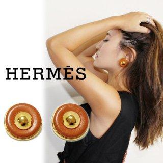 HERMES エルメス ヴィンテージ<br>メドールイヤリング
