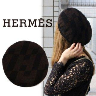 HERMES エルメス<br>【Vintage ヴィンテージ】<br>ベレー帽