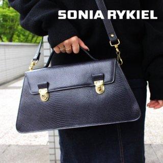 SONIA RYKIEL ソニアリキエル<br>【Vintage ヴィンテージ】<br>2Wayショルダー・ハンドバッグ