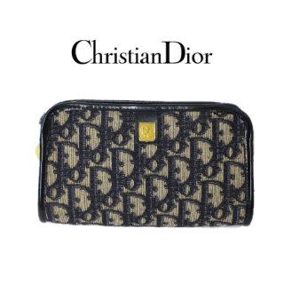 Dior ディオール<br>【Vintage ヴィンテージ】<br>トロッターポーチ