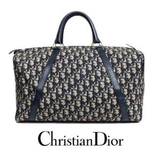 Dior ディオール<br>【Vintage ヴィンテージ】<br>トロッターボストンバッグ