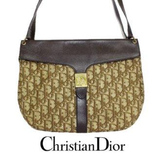 Dior ディオール<br>【Vintage ヴィンテージ】<br>トロッターショルダーバッグ