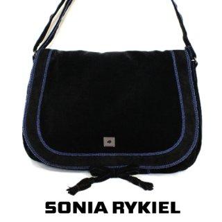 SONIA RYKIEL ソニアリキエル<br>【Vintage ヴィンテージ】<br>ベロアショルダーバッグ