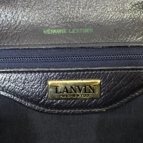 LANVIN ランバン ヴィンテージ <br>スウェードショルダーバッグ