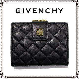 GIVENCHY ジバンシー<br>【Vintage ヴィンテージ】<br>キルティングレザー二つ折り財布