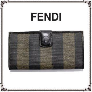 FENDI フェンディ<br>【Vintage ヴィンテージ】<br>ぺカン柄長財布