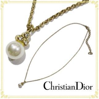Dior ディオール ヴィンテージ<br>フェイクパールネックレス