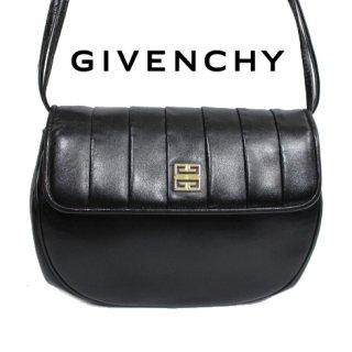 GIVENCHY ジバンシー<br>【Vintage ヴィンテージ】<br>コンパクトロゴショルダーバッグ