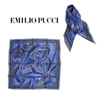 EMILIO PUCCI エミリオ プッチ<br>【Vintage ヴィンテージ】<br>ミニスカーフ