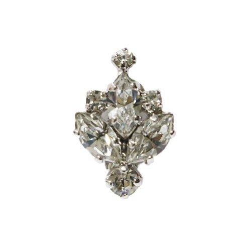 Dior ディオール<br>【Vintage ヴィンテージ】<br>ビジューイヤリング