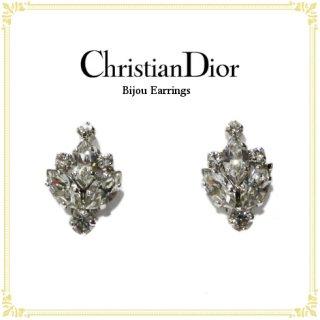 Dior ディオール ヴィンテージ<br>ビジューイヤリング